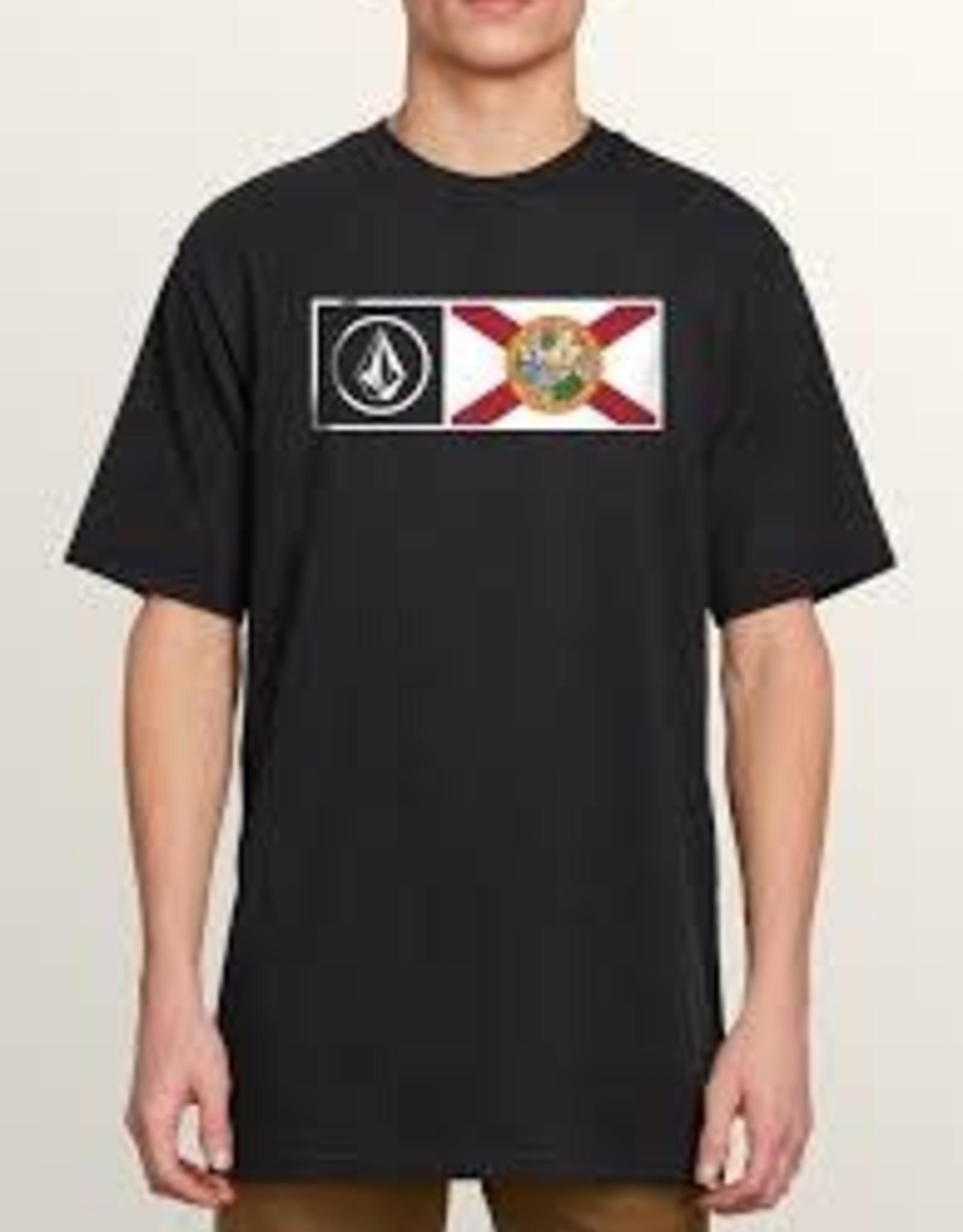 volcom volcom florida flag tshirt