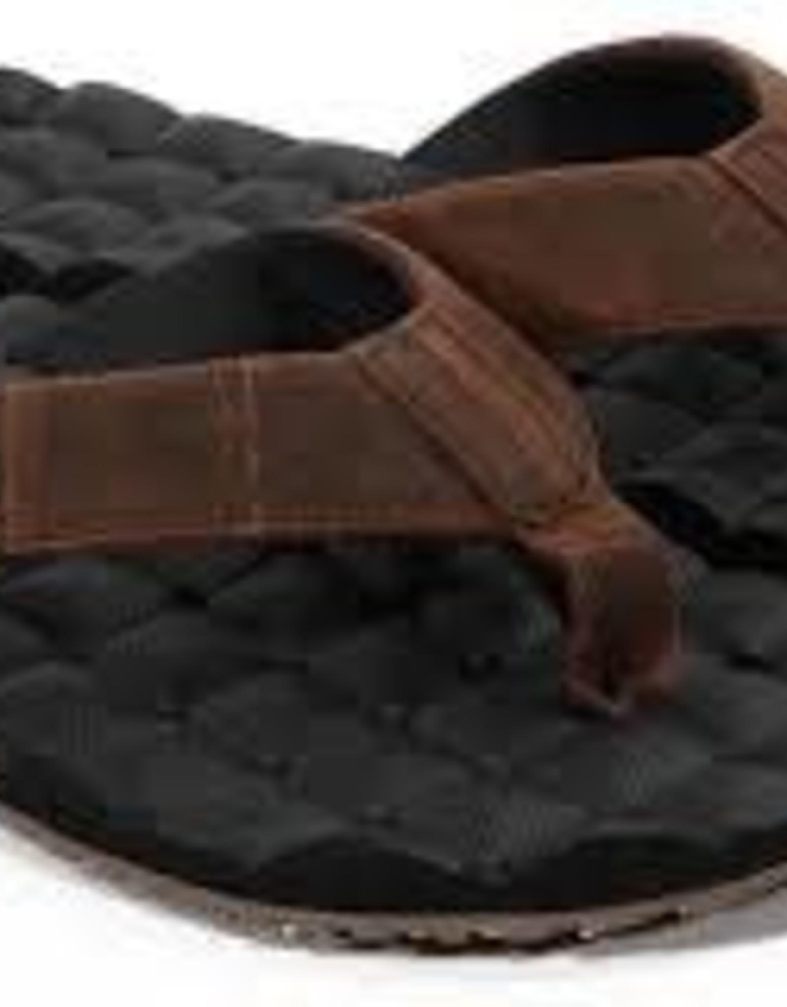 volcom volcom recliner leather sandal