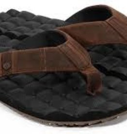 volcom volcom recliner leather sandal