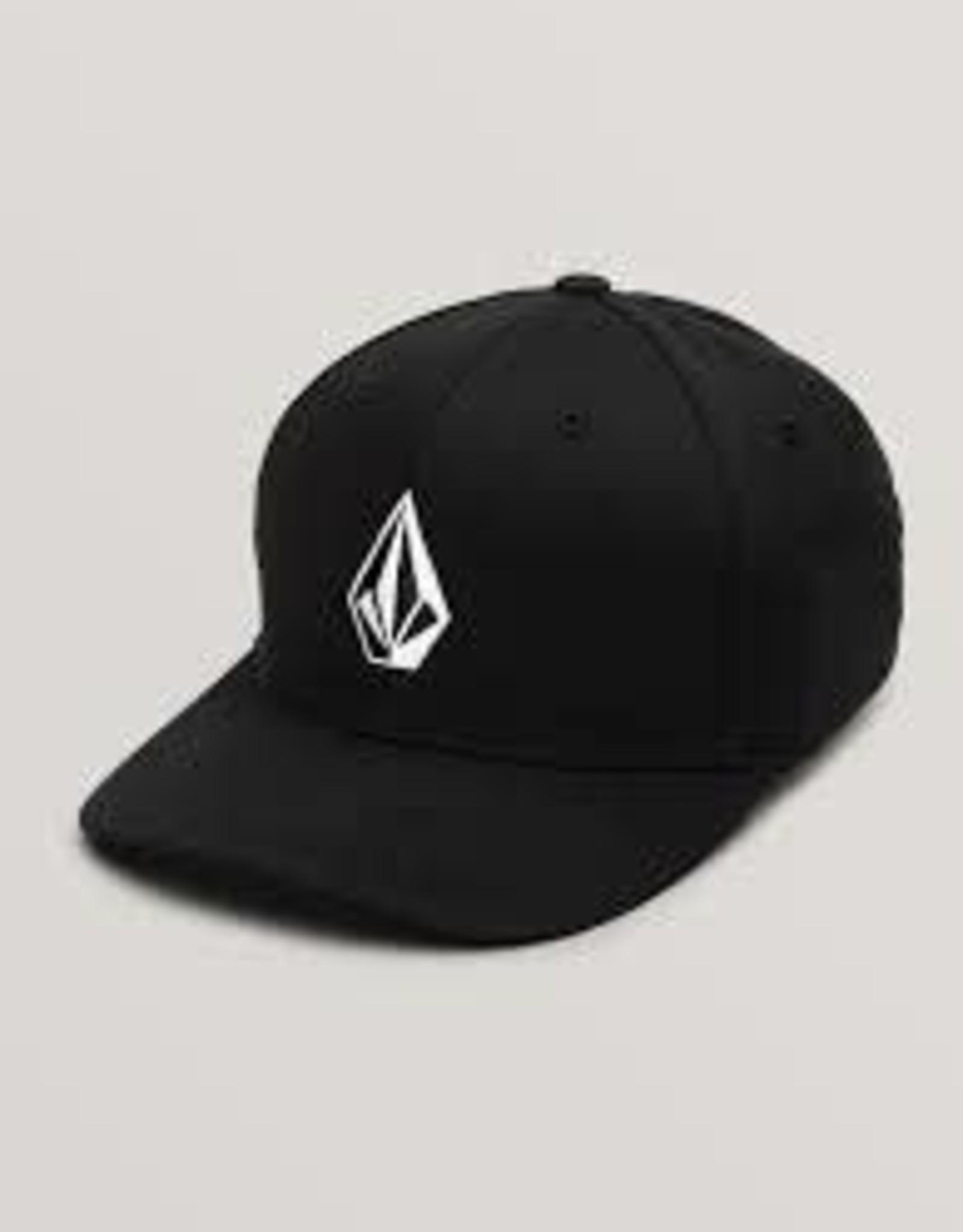 volcom volcom full stone xfit youth hat blk f5541307