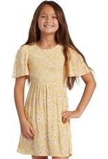 billabong Billabong Girls Floral Dress ABGWD00102