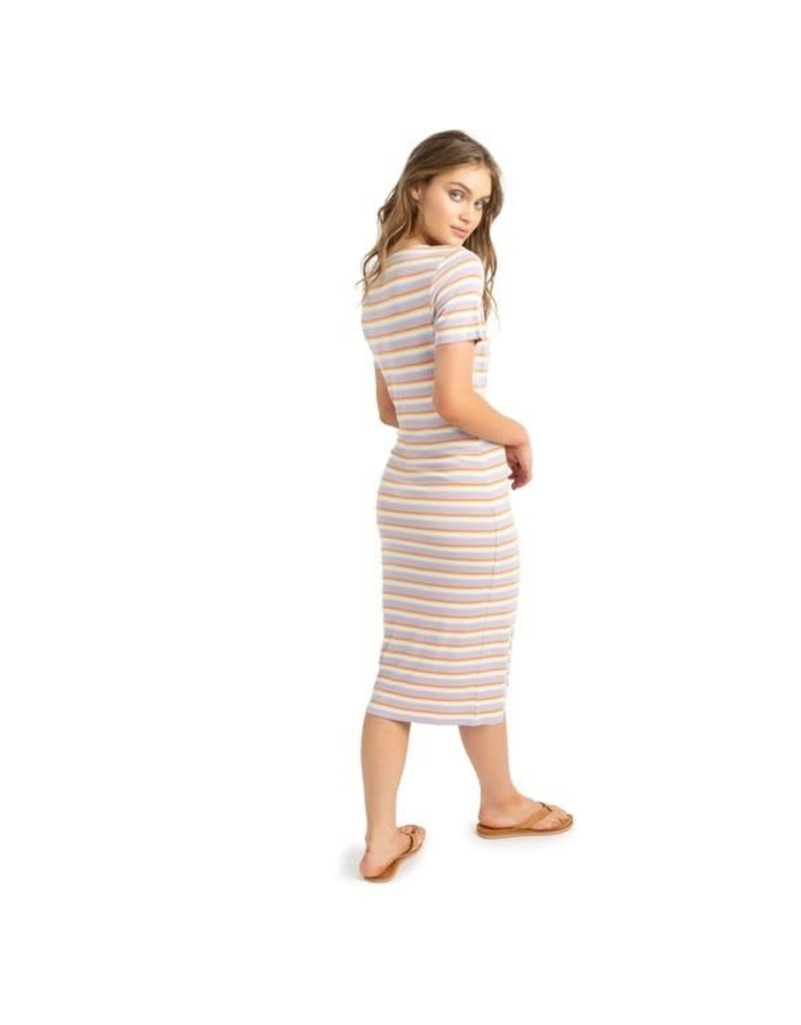 Roxy Roxy Bring It On Stripe Knit Dress ARJKD03195