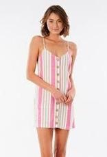 rip curl Rip Curl Ashore Stripe Mini Dress GDRJD8