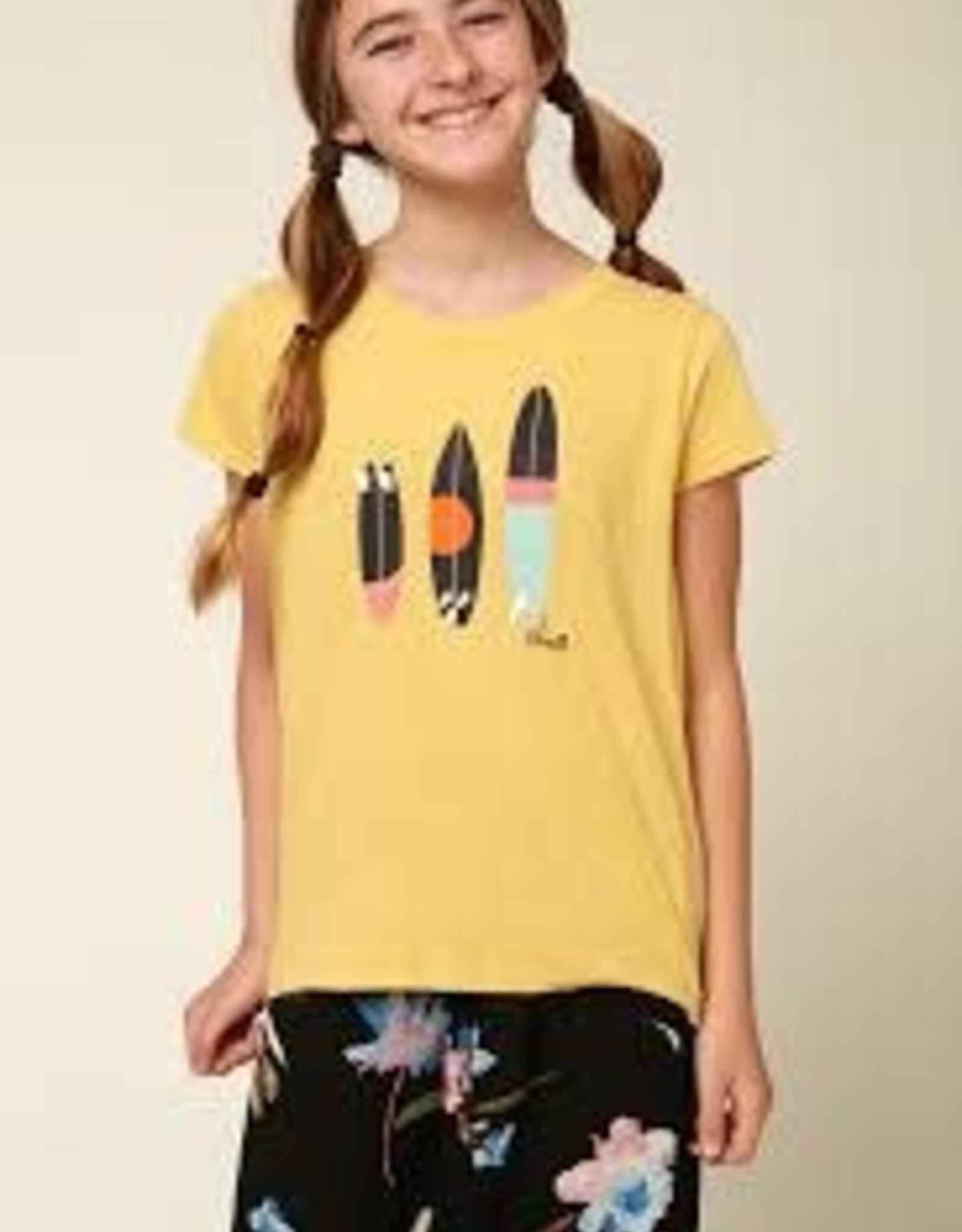 oneill Oneill Girls Shred Sticks SS Tee SP1818018