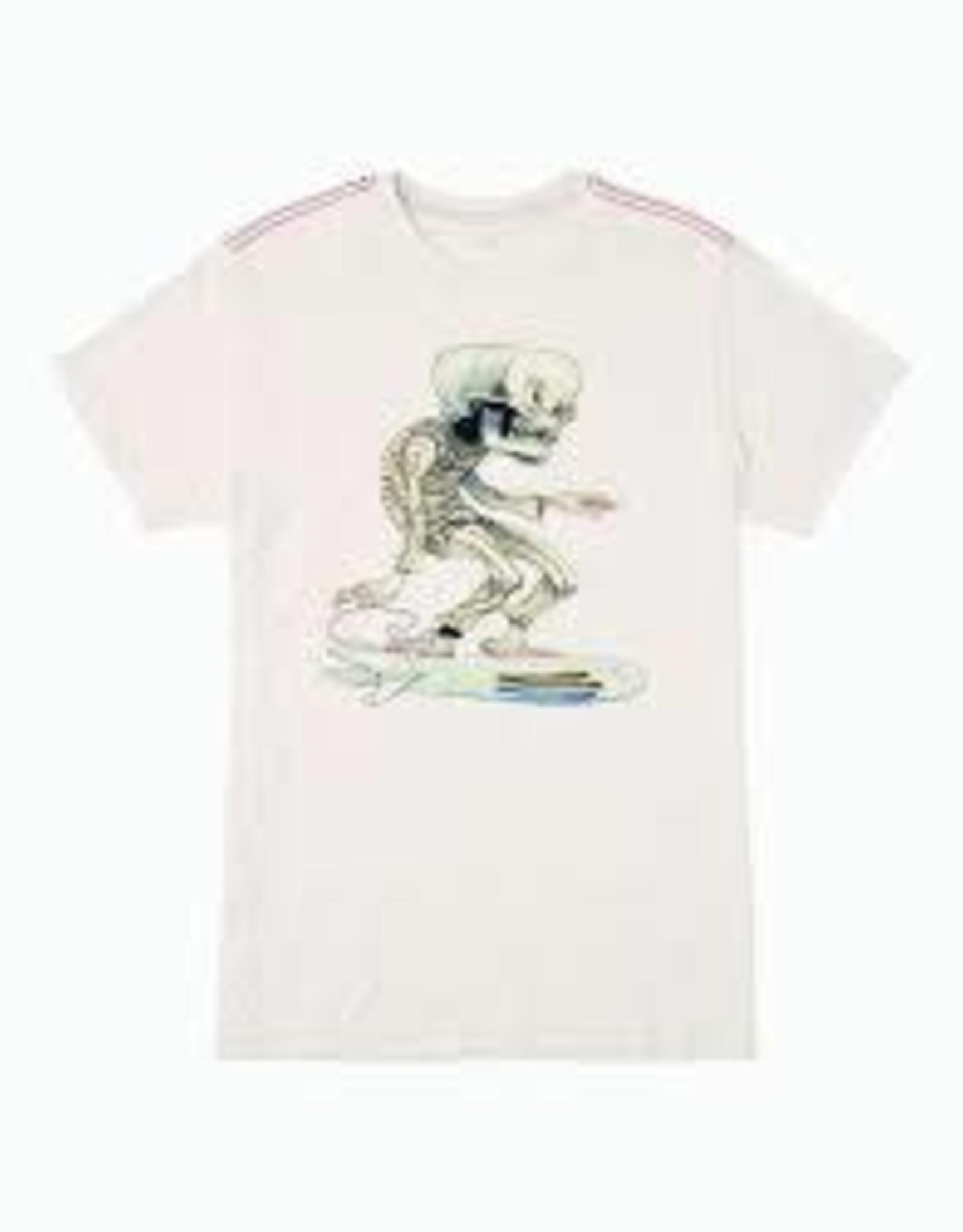 rvca rvca skull surfer s/s