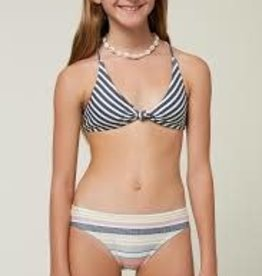 oneill Oneill Girls Lilia Stripe Knot Top SP1874006