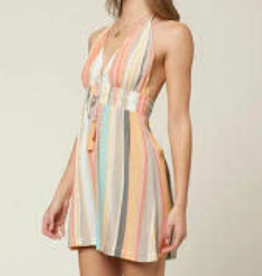 oneill Oneill Madisen Stripe Dress SP1416051