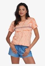 Roxy Roxy Palm Stripe Tie Dye SS Tee ARJZT06674