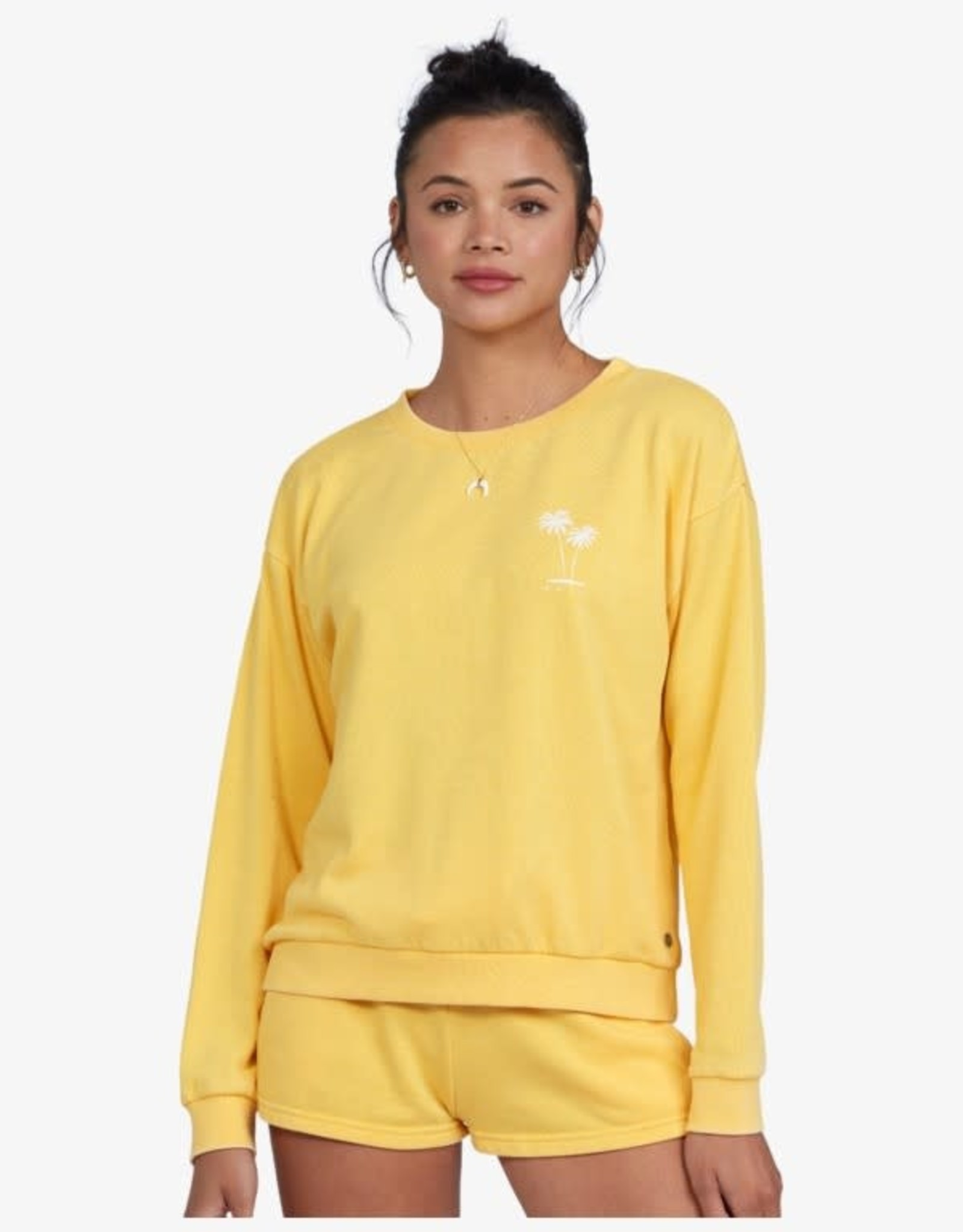 Roxy Roxy Surfing By Moonlight Crew Fleece ARJFT03805