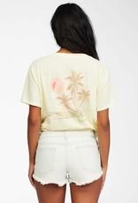 billabong Billabong Sunny Palm S/S Tee ABJZT00260