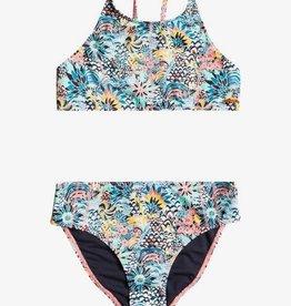 Roxy Roxy Marine Bloom Crop Bikini ERGX203353