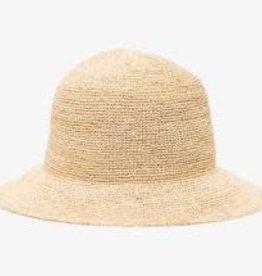 Frankies frankies bikinis jax straw bucket hat rafia 90077sw-rfa