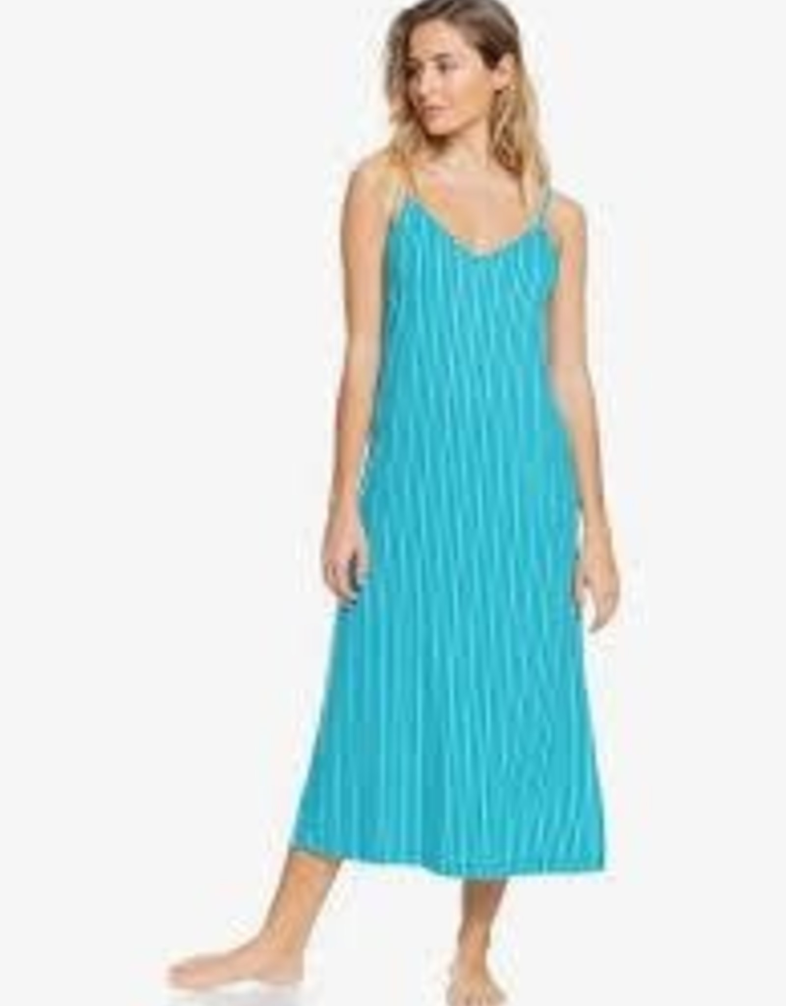 Roxy Roxy Promised Land Striped Midi Dress ERJKD03371