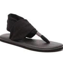 sanuk Sanuk Blk Yoga sling 2 sandle sws10001