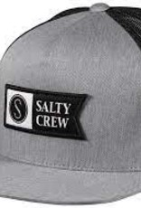 salty crew Salty Crew Alpha Twill Trucker Hat GRY