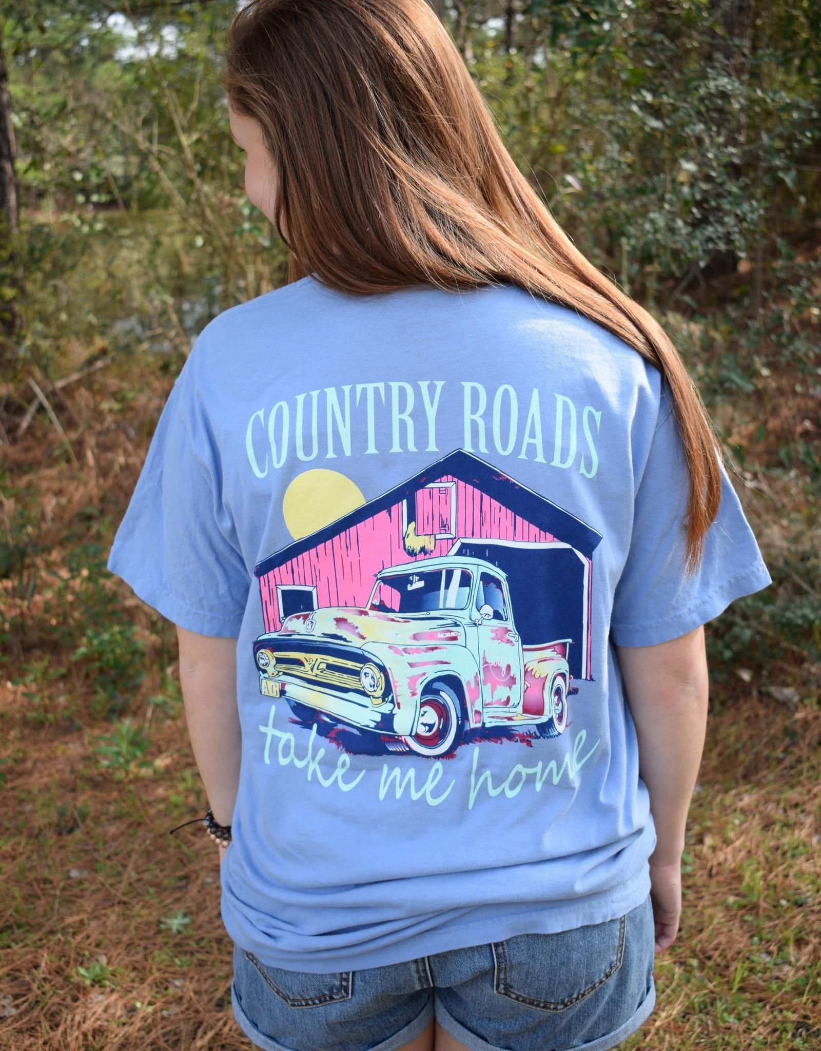 Country Roads Short Sleeve Tee
