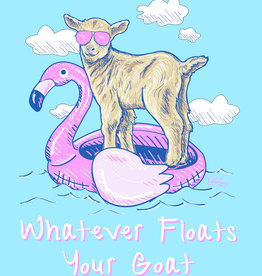 Floats Your Goat Short Sleeve Tee