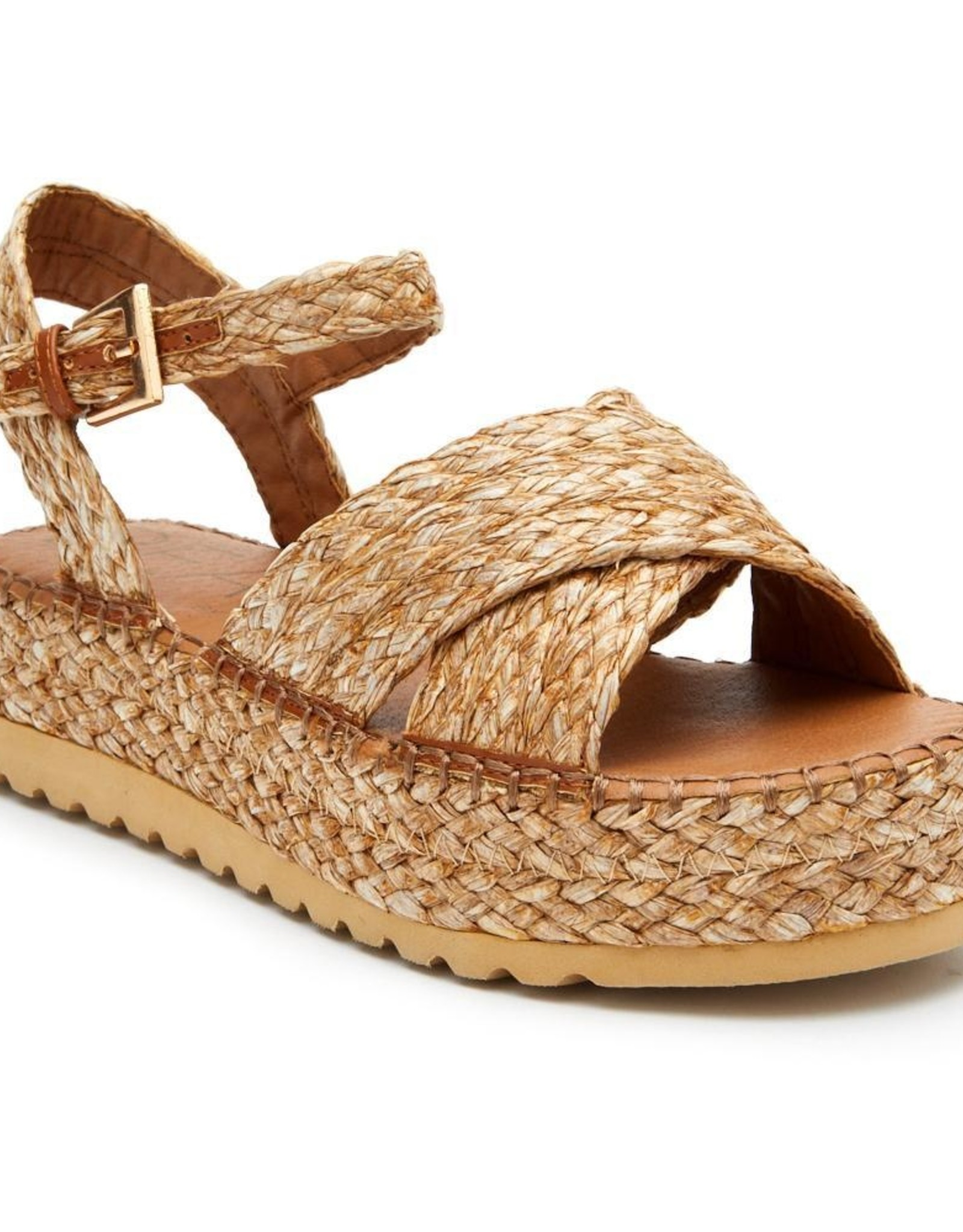 Sunshine Cognac Sandal