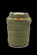 Puffin Cooler Olive Green  Orange Beverage Vest