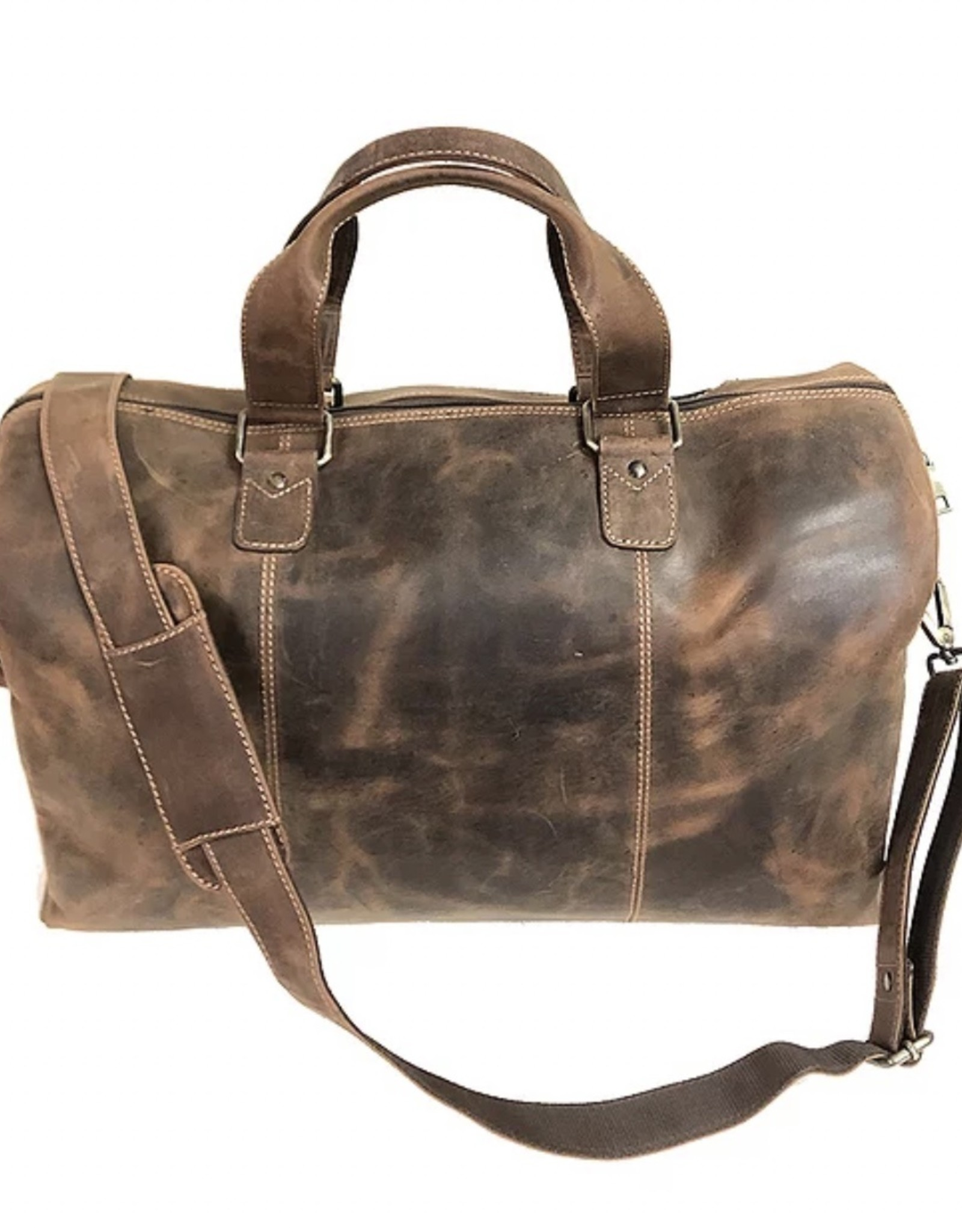 Leather Duffle Small