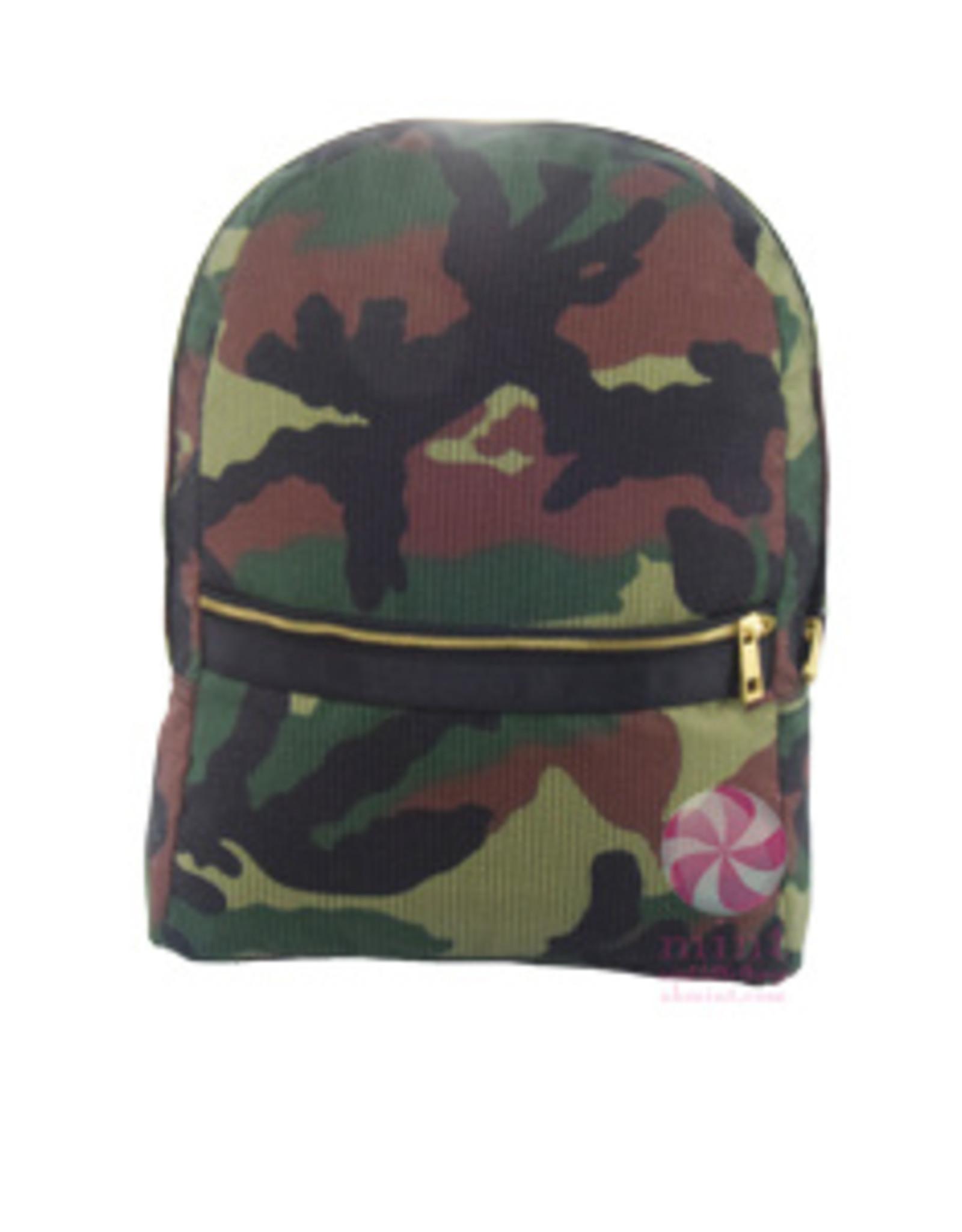 Mint Medium Backpack Woodland Seersucker