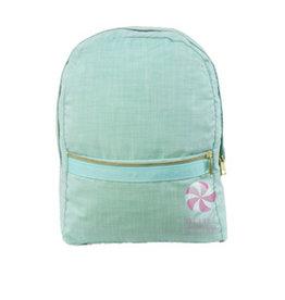 Mint Medium Backpack Mermaid Chambray