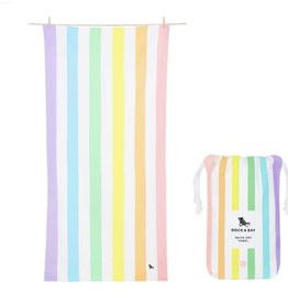 Quick Dry Towel-Summer Unicorn Waves LG