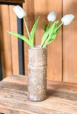 """Bamboo Cylinder Nutmeg 7 1/2"""""""