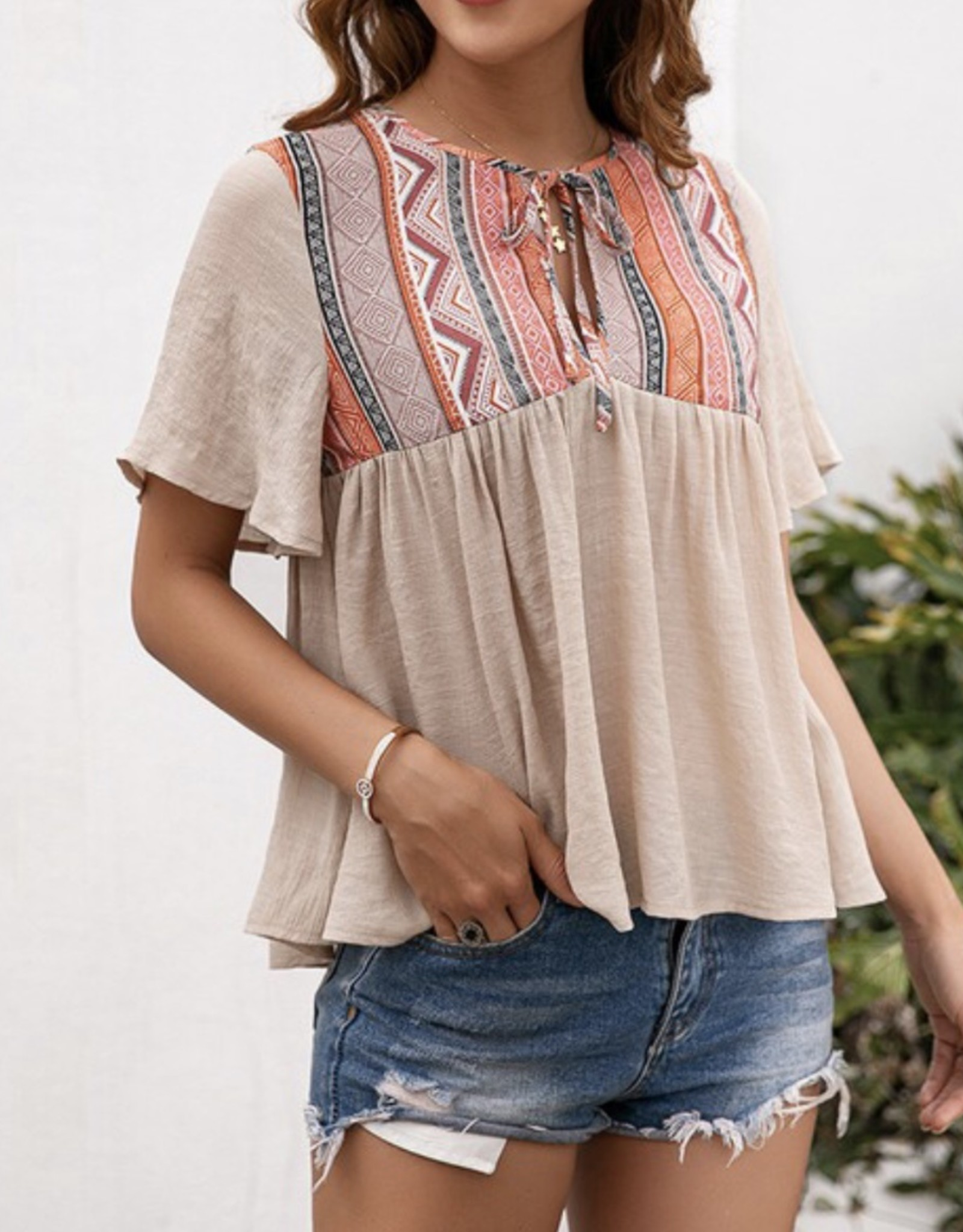 Lily Clothing Bohemian Top