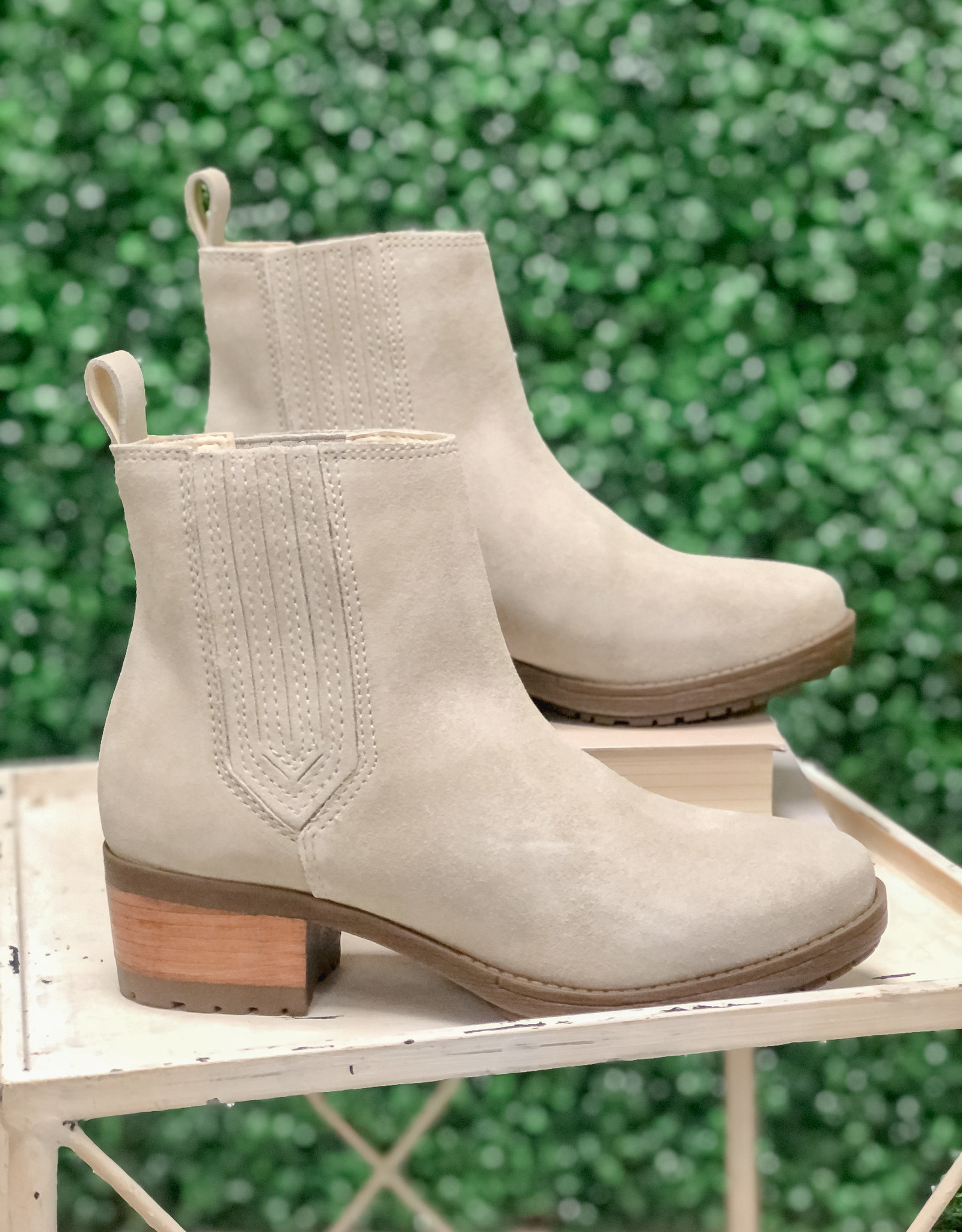 Lily Light Grey Booties