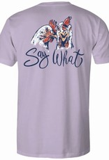 AG S/S TEE- Say What