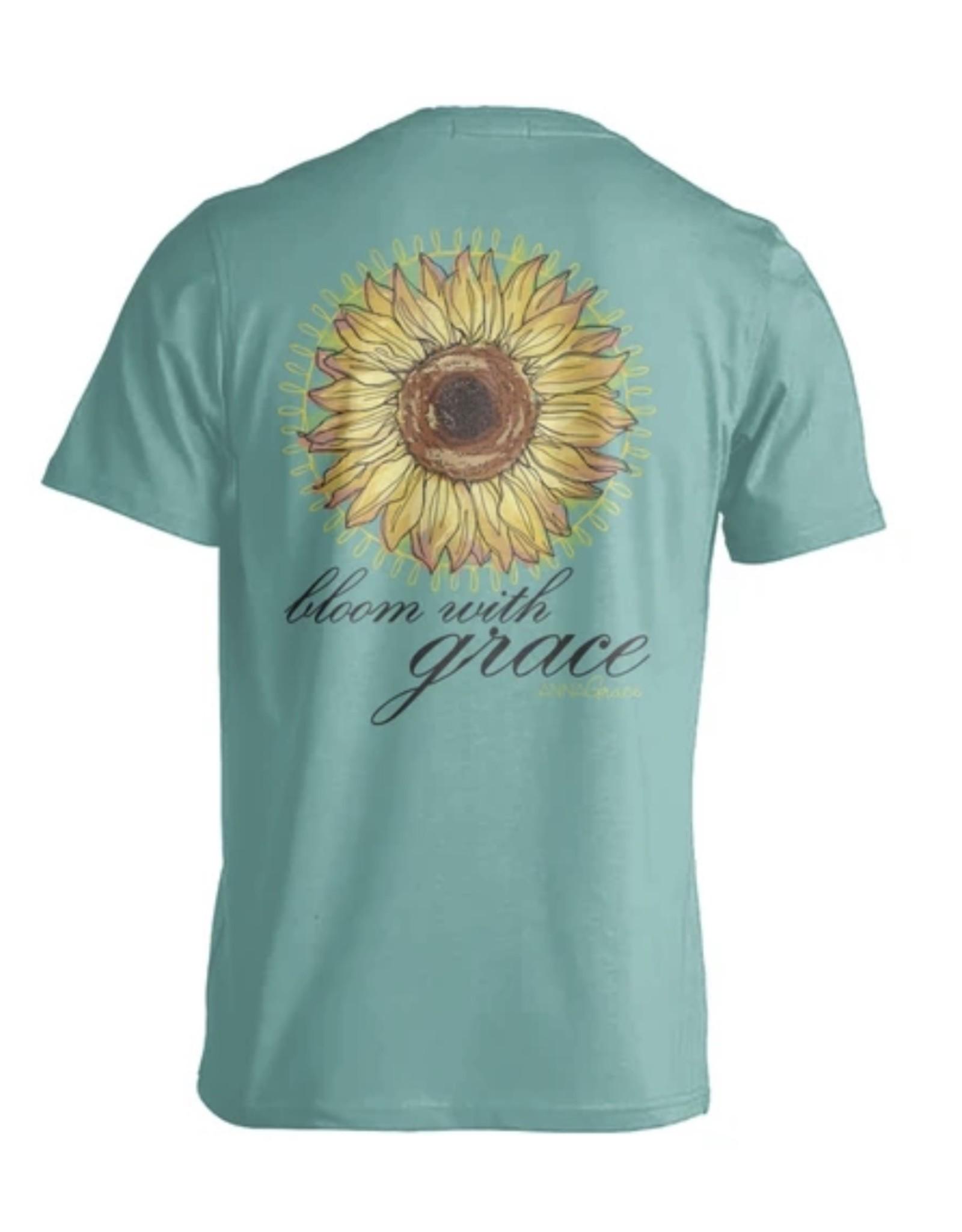 AG S/S TEE- Sunflower