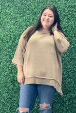 Cuff Sleeve Sweater