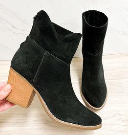 Soho Black Booties
