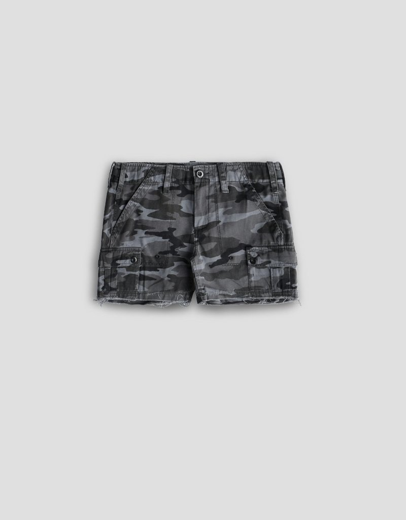 Camo Drill Cargo Shorts