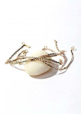 ILD 14KGF Metallic Silk Mirage Bracelet SINGLE