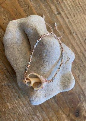 CL BS5799 Pull Tie Shell Bracelet