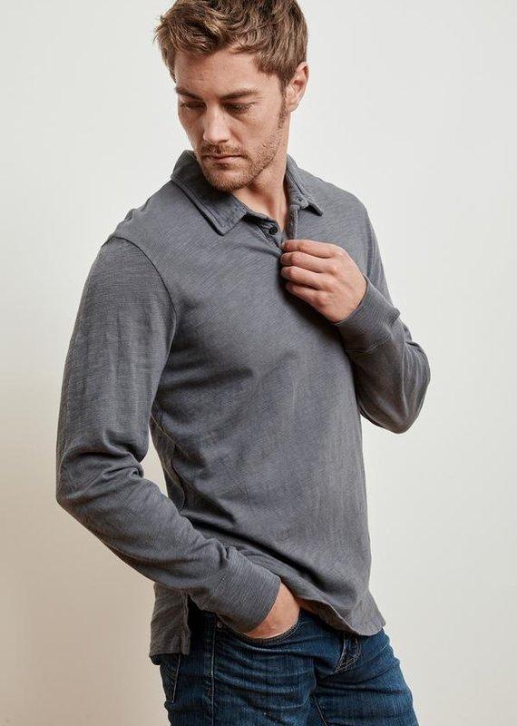 VELVET Niall L/S Polo Shirt