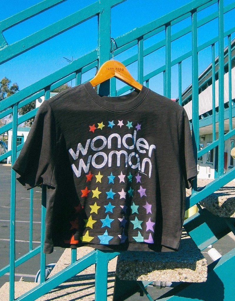 JF WONDERWOMAN CROP TEE