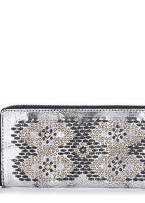 CC Silver Mirror Suni Wallet