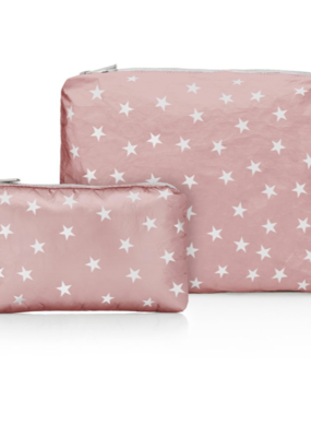 HLT Set of 2 Zip Cosmetic Bags