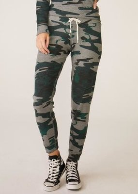 MONROW HB0716-15 Vintage Camo Thermal Sweats