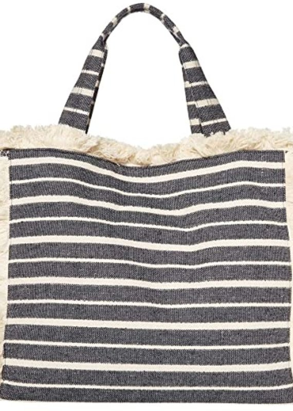 HA Navy Stripe Launch Tote
