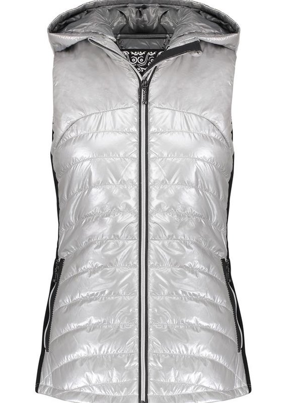 ANORAK 50791 Yoga Vest Silver