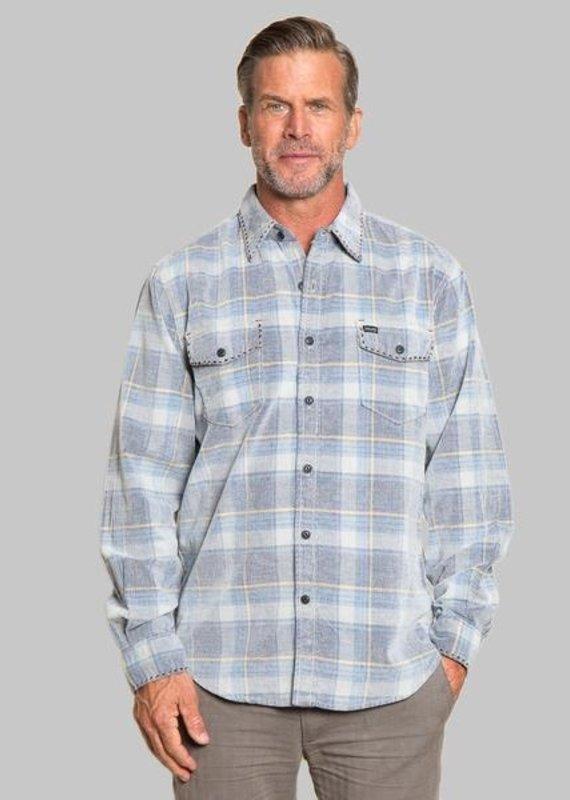 TG 91M67VPC10 Plaid Cord Shirt
