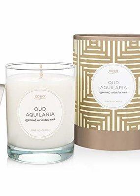 KOBO Lrg Candle Oud Aquilaria