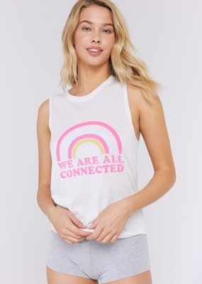 SG We Are All Connected Muscle Tank