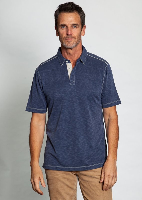 TG A5M15HST Sueded Tencel S/S Polo (More Colors)