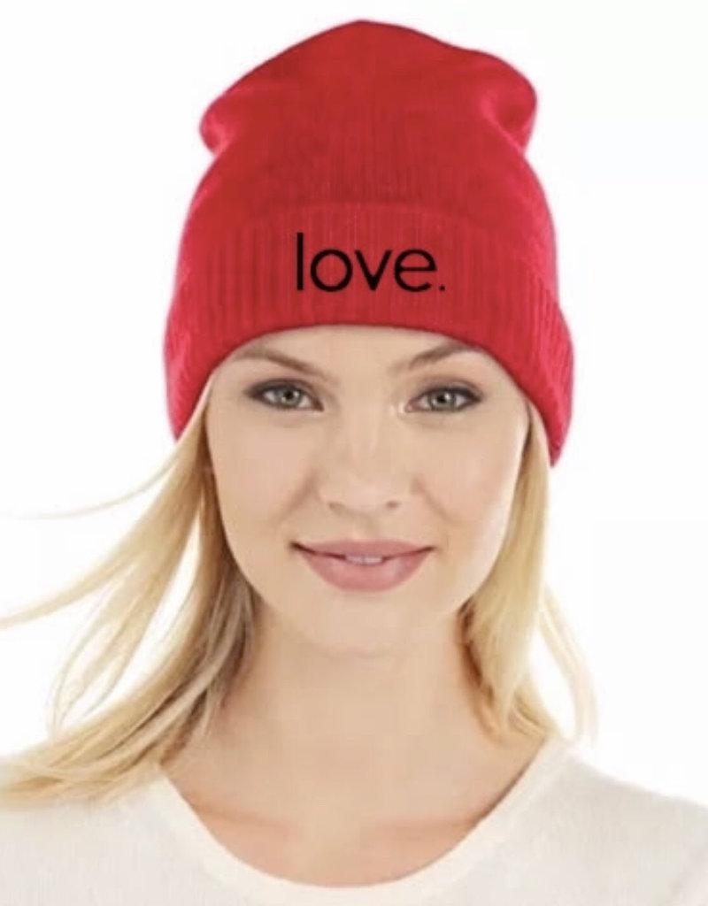 B&V LOVE BEANIE