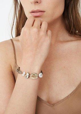 CL BS 5827 Abalone Mix Bracelet